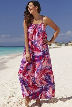 swimsuitsforall Pitaya Relax Maxi Dress