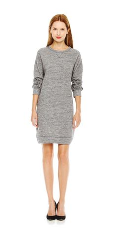 FREE SHIPPING on orders over $50. FREE RETURNS in store. Get the cozy comfort of a classic sweatshirt in a dress.