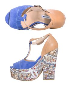 sweet: Paris on your 'demi' wedges > there's also a matching skirt !!!! by Carven