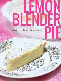 Easy blender pie that's a cross between a Dutch Baby, crepe and a cheesecake. It's gluten-free and dairy-free.
