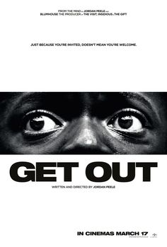 Check out some new posters for Blumhouse & Jordan Peele's Get Out | Live for Films ~ Saw it for the 2nd time today with the white hubby, which was his first time. This movie got 5 total clapping ovations throughout its best parts and climax, so so good!