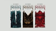 The Lord Of The Rings Trilogy Book Covers on Behance