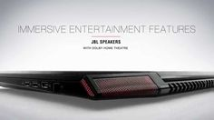 """Lenovo ideapad Y700 Product Tour  - """"Immersive gaming anywhere"""""""