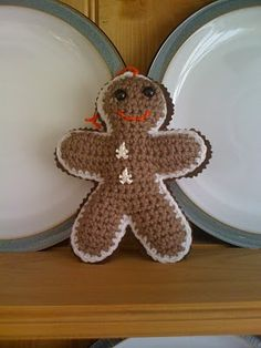 Crochet Gingerbread - Tutorial, thanks so for share (pdf File via Ravelry). Very in depth, yay xox