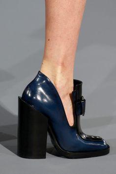 AW 13-14 Jil Sander chunk of heel
