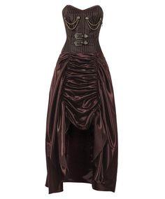 Antonie Steampunk Corset Dress