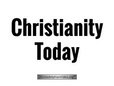 Christianity Today!