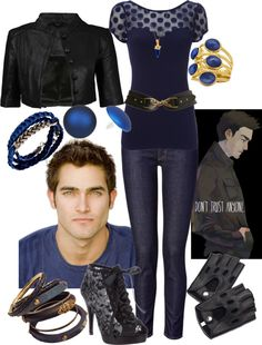 """""""Derek Hale"""" by meagan-wymbs ❤ liked on Polyvore"""