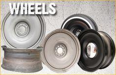 Detroit Steel Wheel: Steelies, Baby Moons, Bullets, Beauty Rings