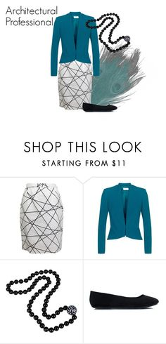 Architectural Professional by bayley-maltas on Polyvore featuring Fenn Wright Manson, Courrèges, teal, business and professional