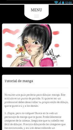 Dibujar Anime y Manga: captura de pantalla