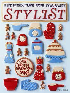 Stylist (UK) New coverStylist magazineEditor: Lisa SmosarskiPhotography director: Tom GormerArtist – hattie newmanArt Director: Giles ArberyDeputy Art Director Natasha Tomalin