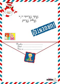 Printables, Letters, Google, Bullet, Ideas, Christmas Letters, Pine Cone Crafts, Decorated Envelopes, Papa Noel