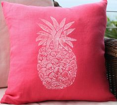 love a pineapple on anything especially this pillow