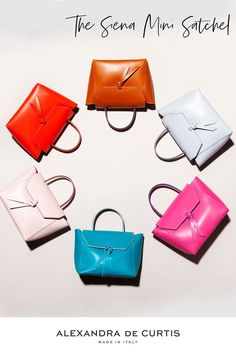 Are you looking for a designer leather handbag? Click through to check out the Satchel Bags, handmade in Italy with smooth