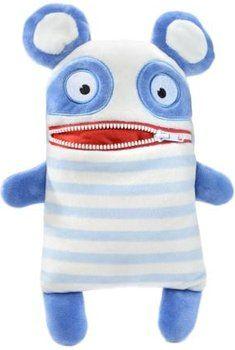 Les peluches Schmidt avale-soucis sont très appréciées des enfants. De nombreux personnages rigolos sont disponibles, dans plusieurs tailles. Comptez un minimum de 12,29 €.