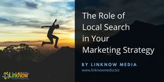 The Role of Local Search in Your Marketing Strategy by LinkNow Media