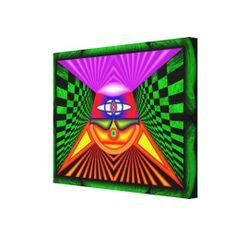 Geometria Pineal - Impressão em canvas esticado em tela medindo 60 x 45 cm - R$ 351,95