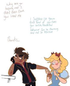 Rebel au starco i honestly like canon a lot better than this au but still cute