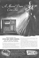 Zenith Cobra-Matic Radio-Phonographs 1951 Ad Picture
