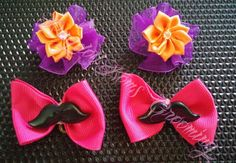 Adorable embellished bows!  Many different styles and colors!