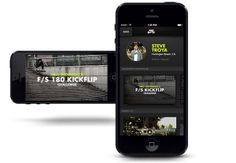 Nike SB app - UX design by christine walthall