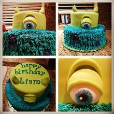 Monsters Inc Cake - Pink Sugar Cupcakes Strawberry Basil Sangria, Monster Inc Cakes, Disney Cupcakes, 8 Oz Cream Cheese, Fresh Basil Leaves, Sugar Cake, Grape Juice, Pink Sugar, Monsters