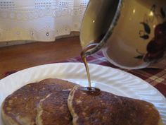 Homemade Maple Syrup....if you don't have the maple flavoring you can sub it for more Vanilla.