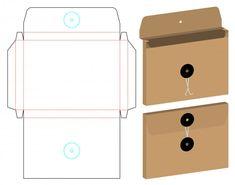 Envelope Book, Diy Envelope, Envelope Design, Craft Packaging, Box Packaging, Packaging Design, Diy Gift Box, Diy Box, Paper Crafts Origami