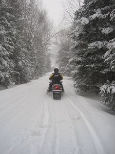 Snowmobiling by MWV Chamber of Commerce, via Flickr
