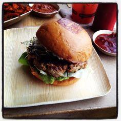 UMAMI BURGER Greenbird burger