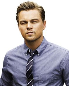 Just a darn good picture of DiCaprio, let's face it: