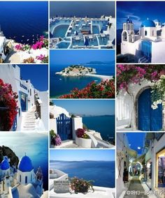 Greece... A world of blue and white <3