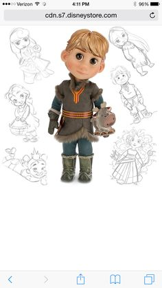 Kristoff from Frozen @ Disney Store