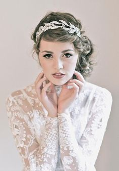 Lady Mary's Wedding Headpiece from Downton Abbey Season 3 Premiere