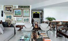 Mais de 600 obras de arte. E não é museu - Casa Vogue   Interiores