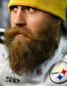 Brett Keisel Defensive end Brett Keisel #99 of the Pittsburgh Steelers talks with the media on February 2, 2011 in Fort Worth, Texas. The Pittsburgh Steelers will play the Green Bay Packers in Super Bowl XLV on February 6, 2011 at Cowboys Stadium in Arlington, Texas.