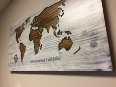 Wood Map Wall Art wooden world map, map wall art, large carved map, vintage map
