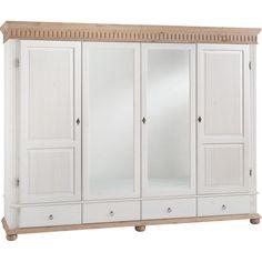 Kleiderschrank in Weiß: Bring den Landhausstil ins Schlafzimmer!