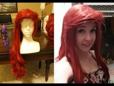 How to Style Ariel Bangs, Quick and Easy! - YouTube