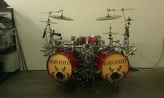 The rack I love with the drums #drum