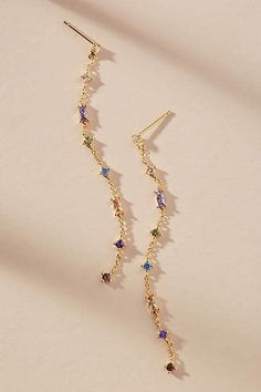 Anthropologie Priscilla Drop Earrings