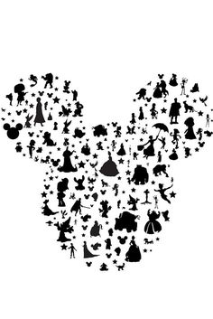 new disney character mickey ears. watercolor.... instant download jpeg, png, svg