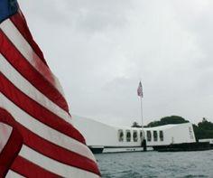 USS Arizona Memorial at Pearl Harbor (Oahu).