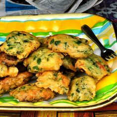 Mofo-anana, fritters made with leafy greens--a street food from Madagascar. Photo by Jessie Beck