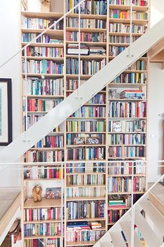 78 Best Bookshelves Stuffed With Books Images On Pinterest