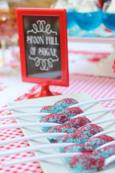 Spoonful of sugar at a Mary Poppins Party with Lots of Really Cute Ideas via Kara's Party Ideas