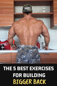 Training back muscles isn't an easy deal. In fact, it is the biggest muscle group of our body to be trained in a day. There fore, i have brought to you, the list of top 5 best exercises for building bigger back Back Workout Men, Good Back Workouts, Back Exercises, Fitness Exercises, Weight Training Workouts, Gym Workouts, At Home Workouts, Workout Tips, Workout Schedule