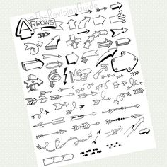 #TheRevisionGuide_StudyTips connectors, or arrows, are an important part of sketchnotes.. . . .