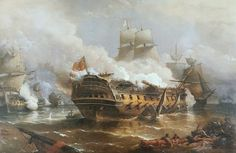The Glorious First of June, by Admiral. - Beat to Quarters Nautical Artwork, Old Sailing Ships, Ship Of The Line, Ship Paintings, Military Diorama, Winter Photos, Ship Art, Model Ships, Royal Navy